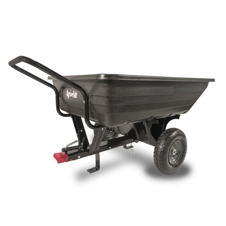 Agri Fab Inc 350 Lb Convertible Poly Push Tow Lawn And Garden Cart Model 45 03453 Black Garden Cart Agri Towing