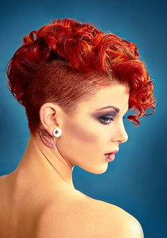 Sidecut frisuren locken