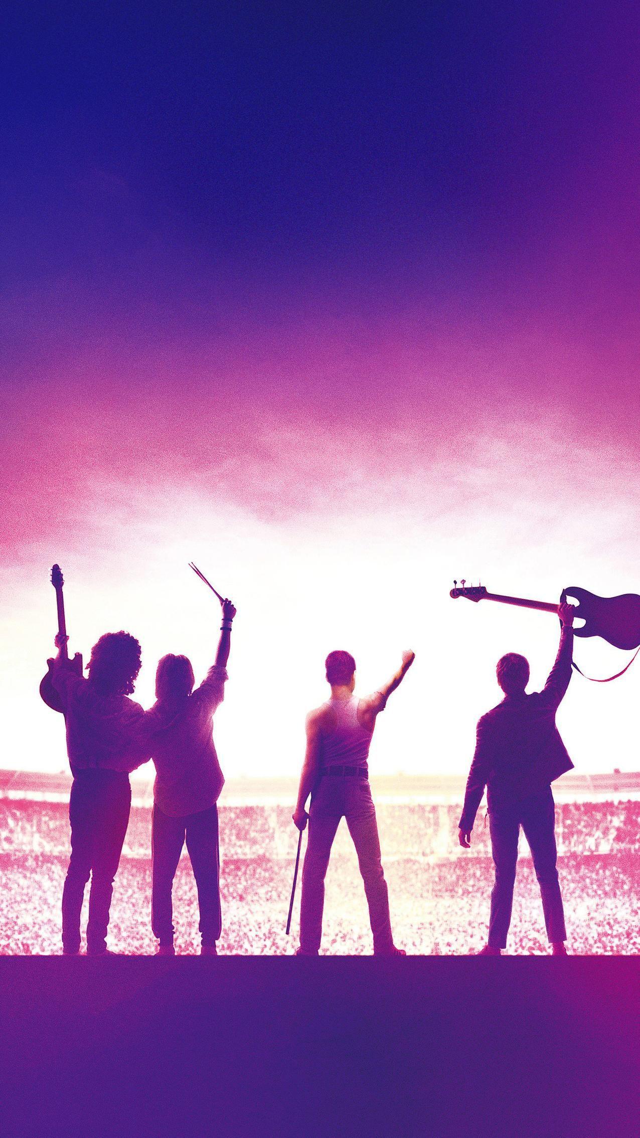 Bohemian Rhapsody (2018) Phone Wallpaper Queens