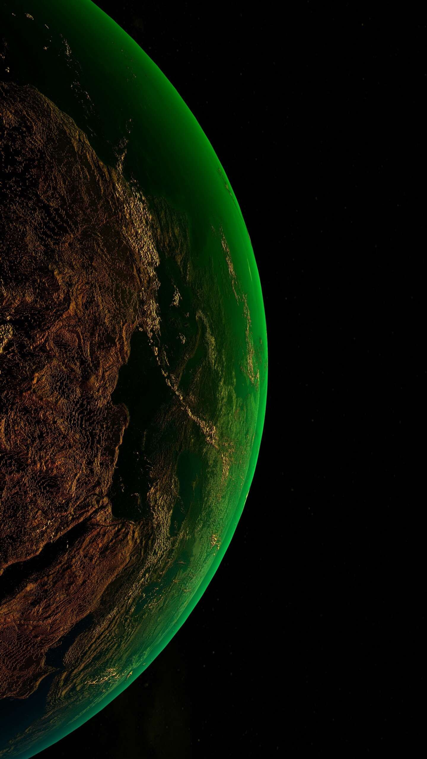 Green Planet Iphone Wallpaper Oneplus Wallpapers Iphone