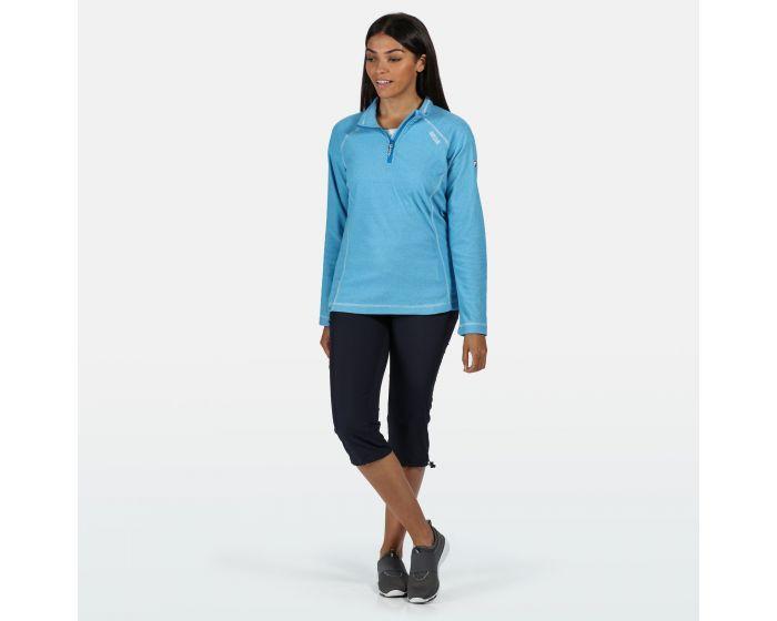 Regatta Women's Montes Lightweight Half-Zip Fleece - Blue Aster