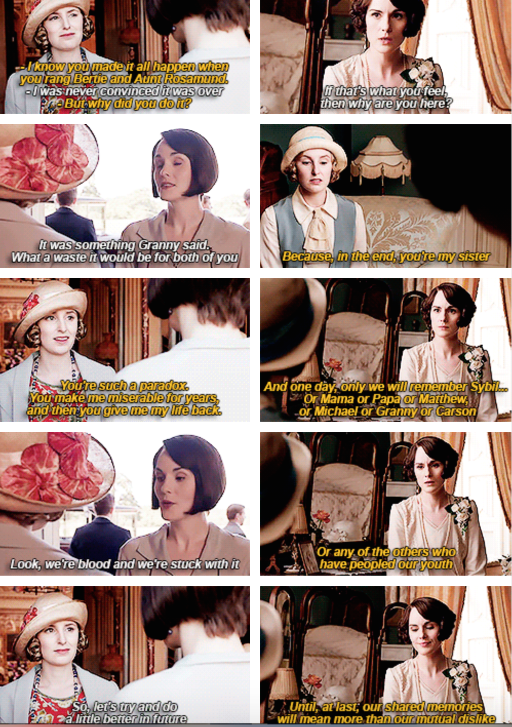 829b6971c23a 3 15 17 12 24a   Downton Abbey  Lady Mary Crawley Talbot and Lady ...
