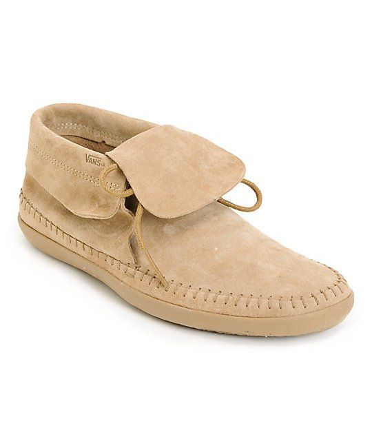 3123ce06c8636f The Mohikan Mid shoe is hot...and cool. This moccasin inspired surf shoe is  a Vans Surfsider mid-top slip on for girls. With flexible vulcanized  outsole