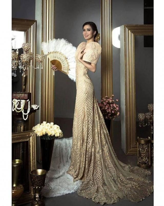 Filipiniana Wedding Gown: Pin On Filipiniana Gowns And Other Philippine Costumes