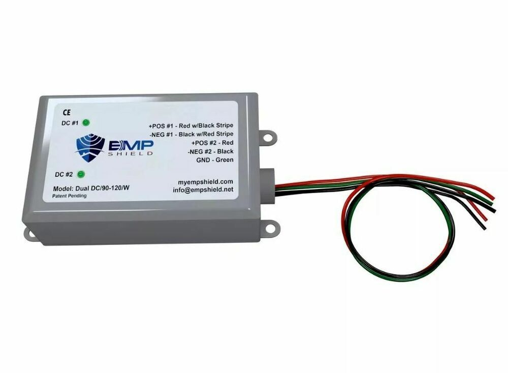 Ebay Sponsored Emp Shield Dual 90 120 Volt Dc For Solar Panel And Wind Generator Systems Wind Generator Solar Panels Wind Turbine Generator