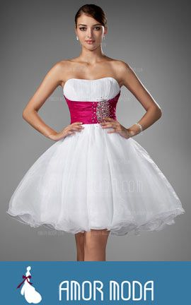 Homecoming Dress With Ruffle Sash Beading  at an affordable price of $133.99 #woman