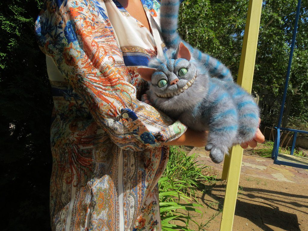 OOAK Cheshire Cat ( by Vladimir Sukhanov ) by Sukhanov.deviantart.com on @DeviantArt