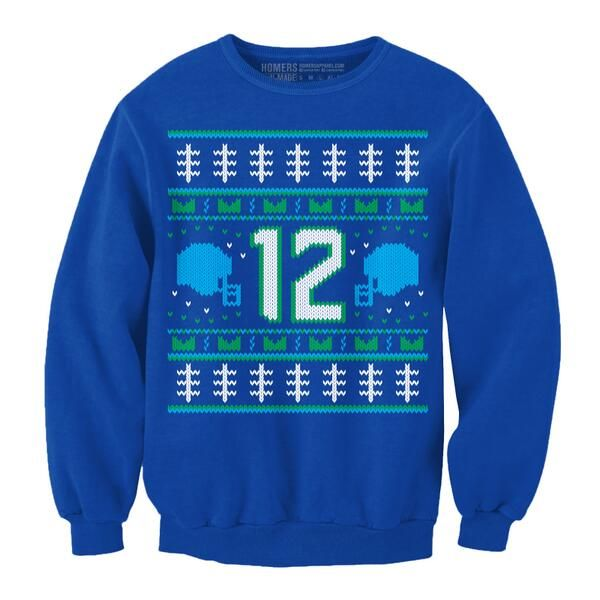 seattle seahawks ugly christmas sweater no freaking way - Seahawks Christmas Sweater