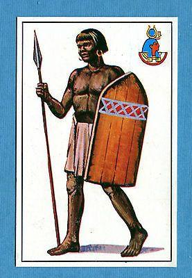ARMI E SOLDATI - Edis 71 - Figurina-Sticker n. 8 - FANTE NUBIANO -Rec