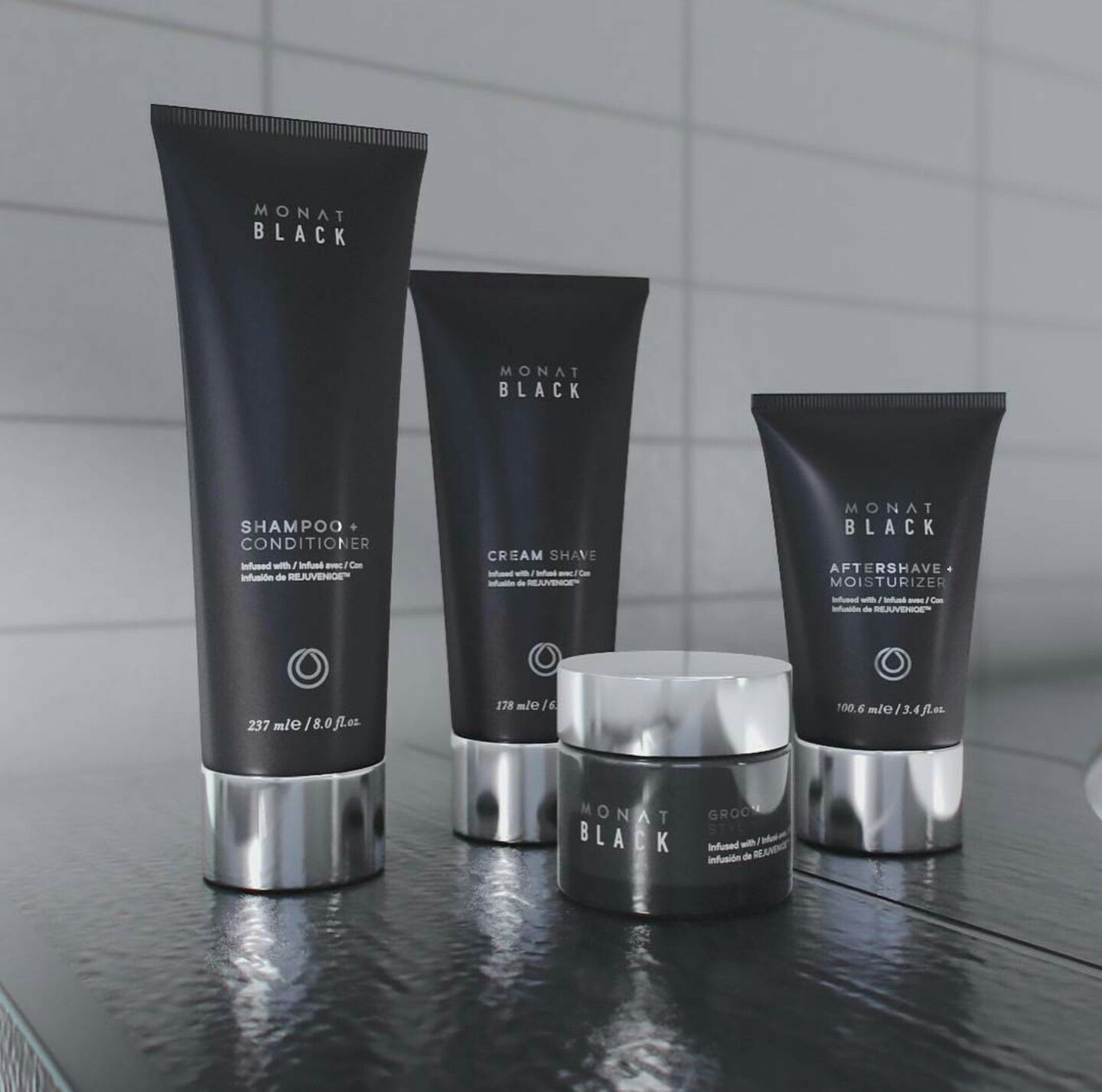 The MONATBlack system is made specifically for men! It