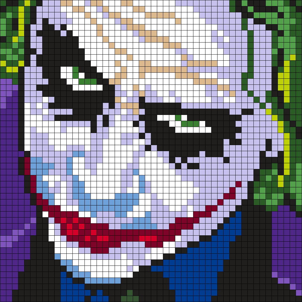 Heath Ledger As The Joker (Square) by Maninthebook on Kandi