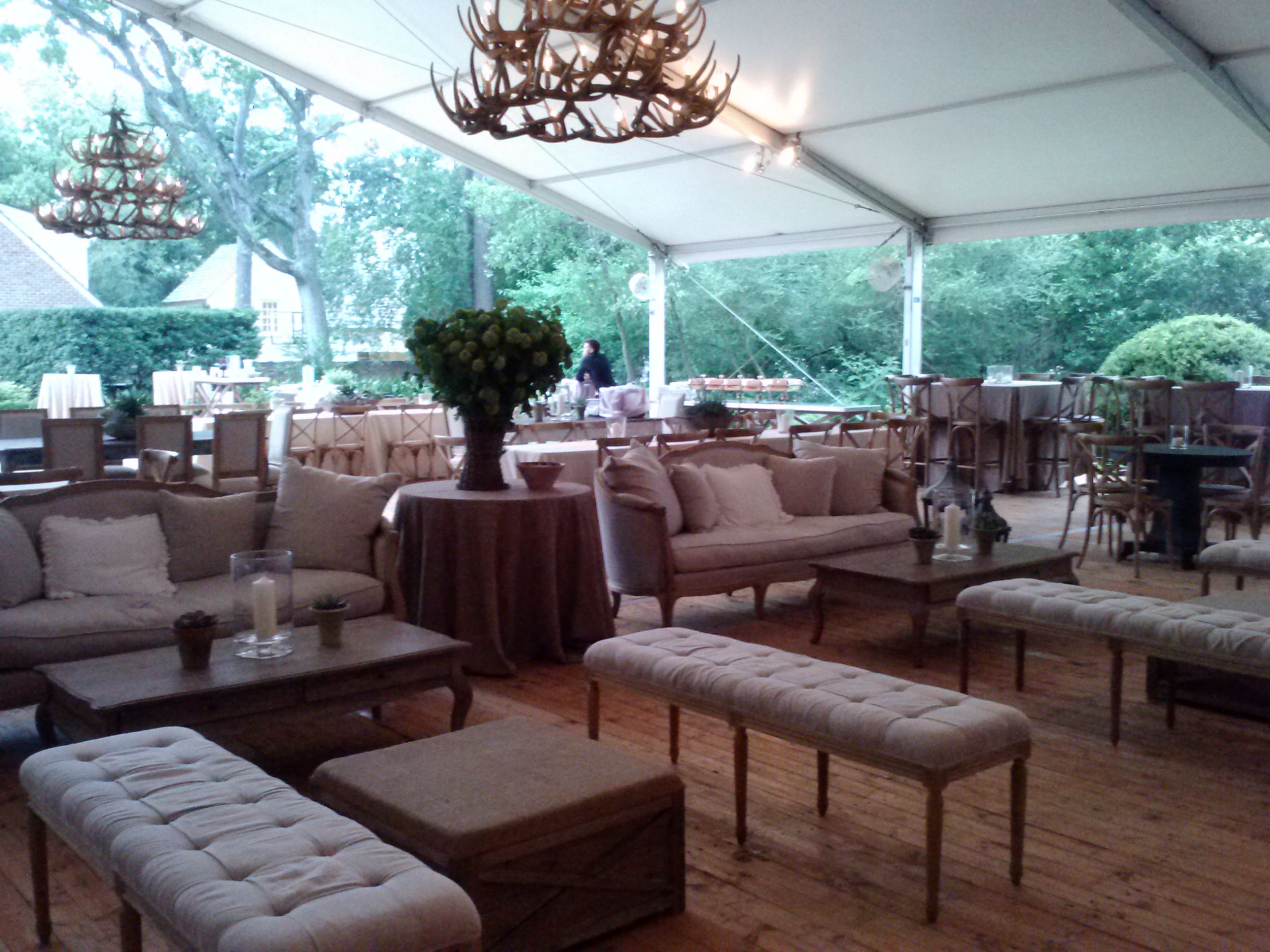 Private Party Aztec Events And Tents Party Furniture Tent Rentals Event Tent