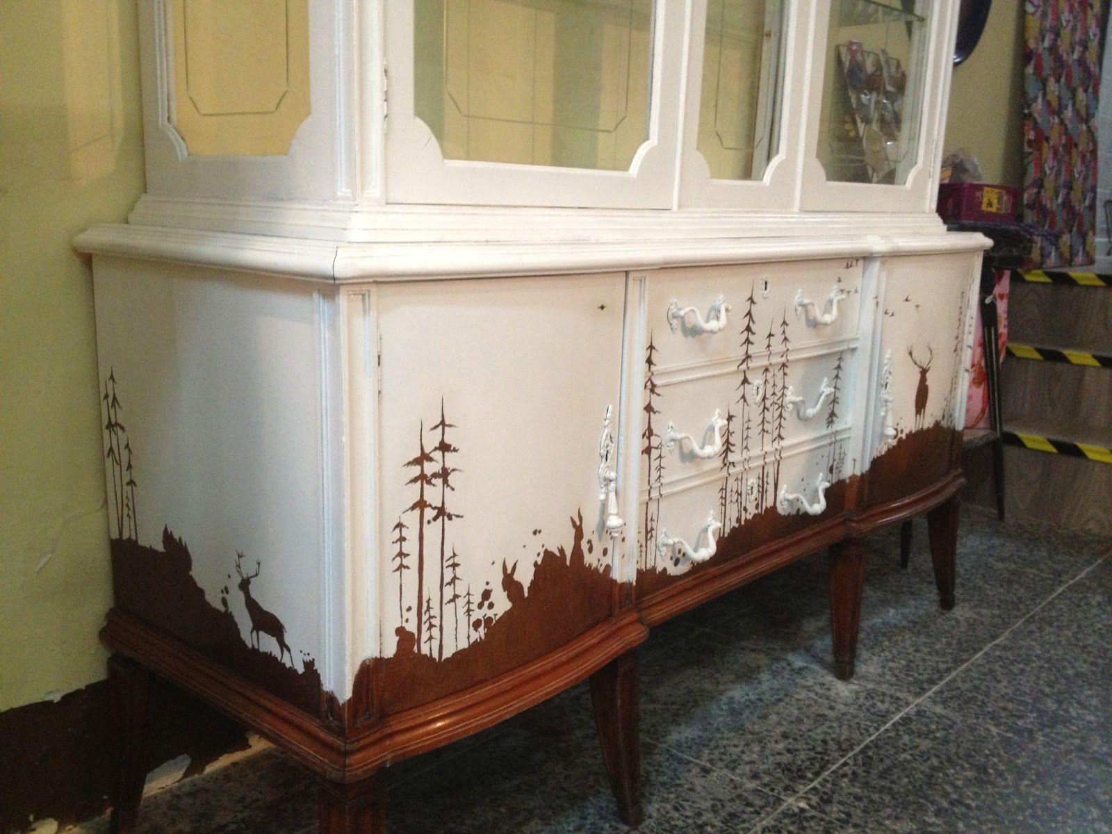Patina Blanco Antiguo Buscar Con Google Madera Cosas  # Muebles Restaurados