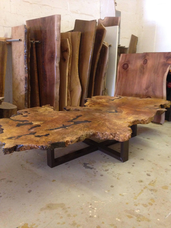Custom Maple Burl Coffee Table By Urbanwoodllc On Etsy Https Www