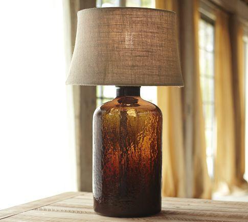 Love.    Clift Glass Table Lamp Base - Espresso  $120.00 – $170.00