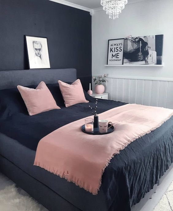 42 Chic Pink And Grey Bedroom Decorating Ideas For Girls Simple Bedroom Decor Simple Bedroom Bedroom Makeover