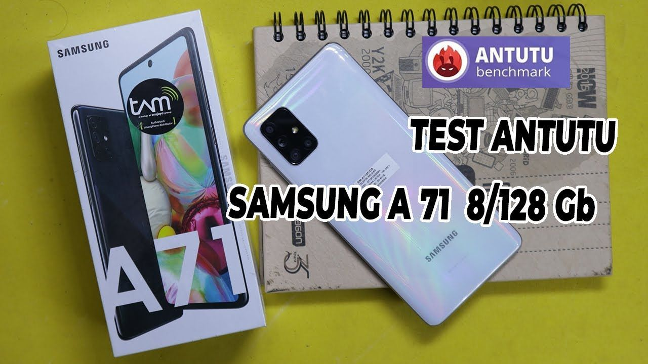 Test Antutu Samsung A71 8/128 Gb