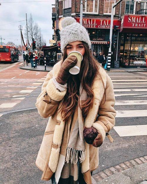 Kaffee und Mode Bild   – Casual Looks