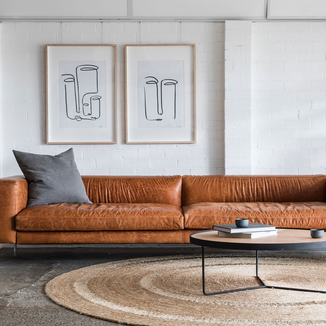 Armadillo Co Rugs Classic Collection Shop Now In 2020 Leather Couch Living Room Modern Leather Couches Living Room Brick Living Room