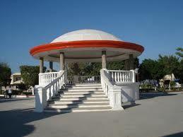 kiosco en la Plaza de Valle Hermoso Tamaulipas Mexico  Aqui estuve de aqui soy Orgullosamente <3