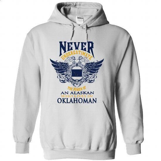 AK-Oklahoman - #customized hoodies #long sleeve tee shirts. PURCHASE NOW => https://www.sunfrog.com/LifeStyle/AK-Oklahoman-5708-White-31990331-Hoodie.html?id=60505