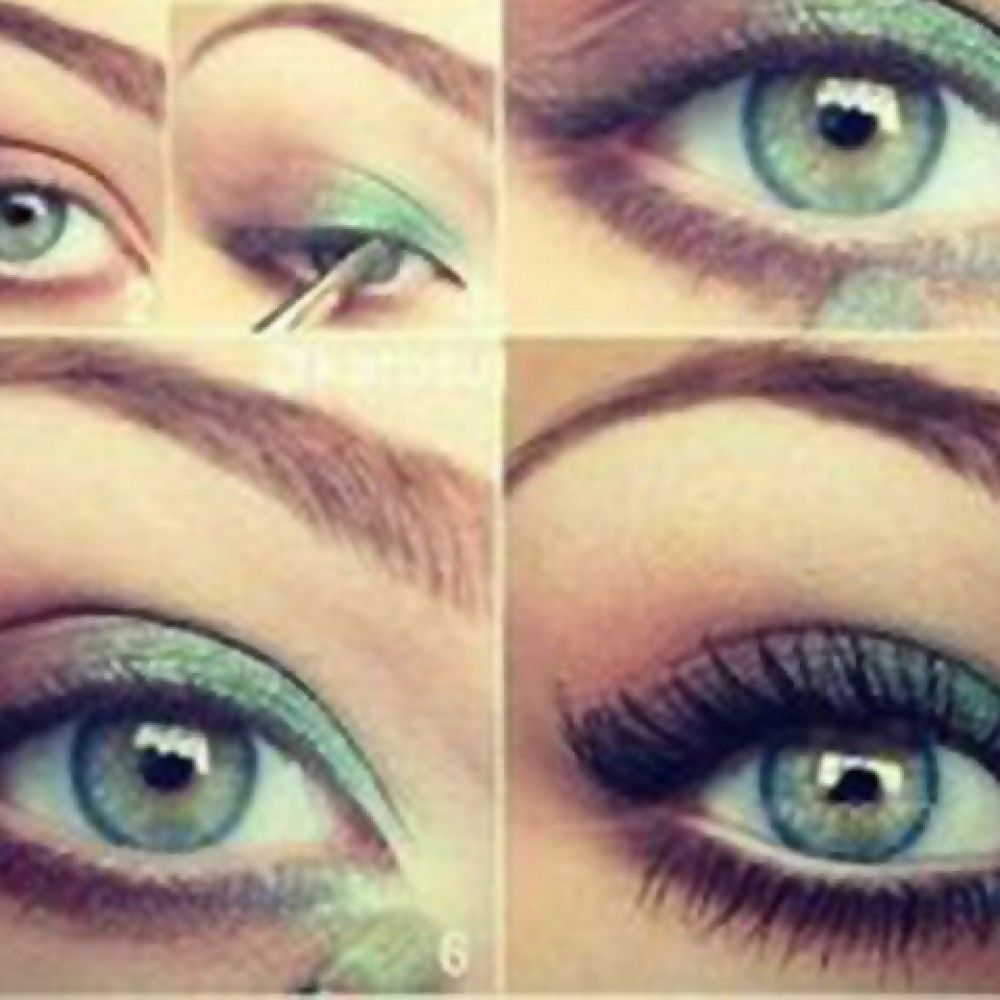 makeup tips for green eyes (15 photos) | eues | makeup for