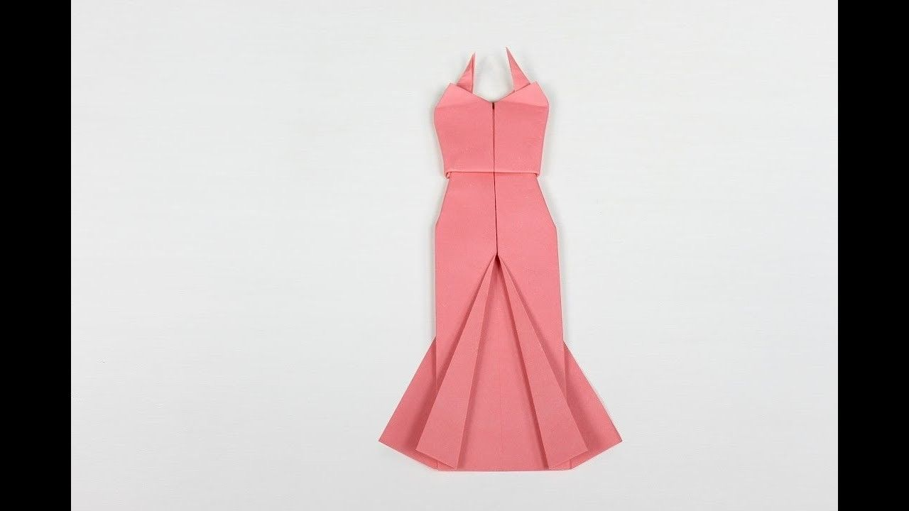 Origami dress how to make an origami dress origami wedding dress origami dress how to make an origami dress origami wedding dress jeuxipadfo Choice Image