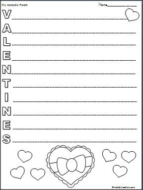 This Is A Valentineu0027s Day Acrostic Poem Available FREE On  Madebyteachers.com.