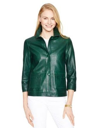Kate Spade New York Alivia Leather Jacket