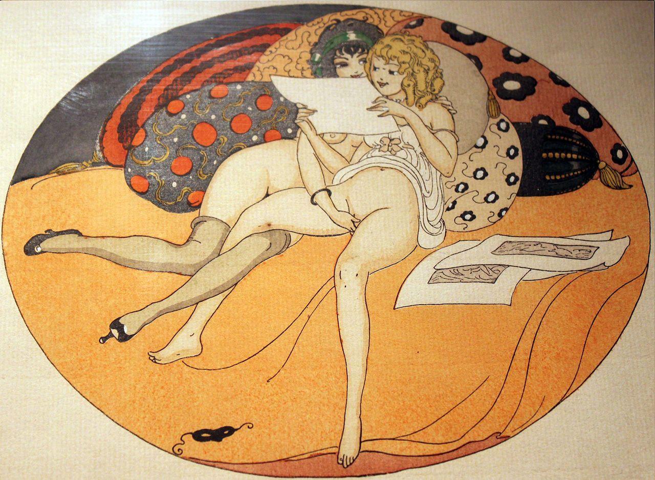 Risultati immagini per Gerda Wegener, Les delassements d' Eros, 1925