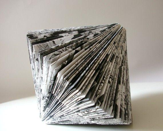 Dateriles: La esculturas de Paperfaerie