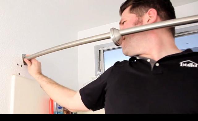 Curved Shower Curtain Rod Installation Best Shower Curtain Ideas