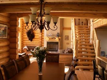 Log Homes Interior Designs Exterior I Just Love The Coziness Of This  For The Home  Pinterest  Home .
