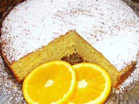 IZA'S CAKES: Orange Olive oil cake