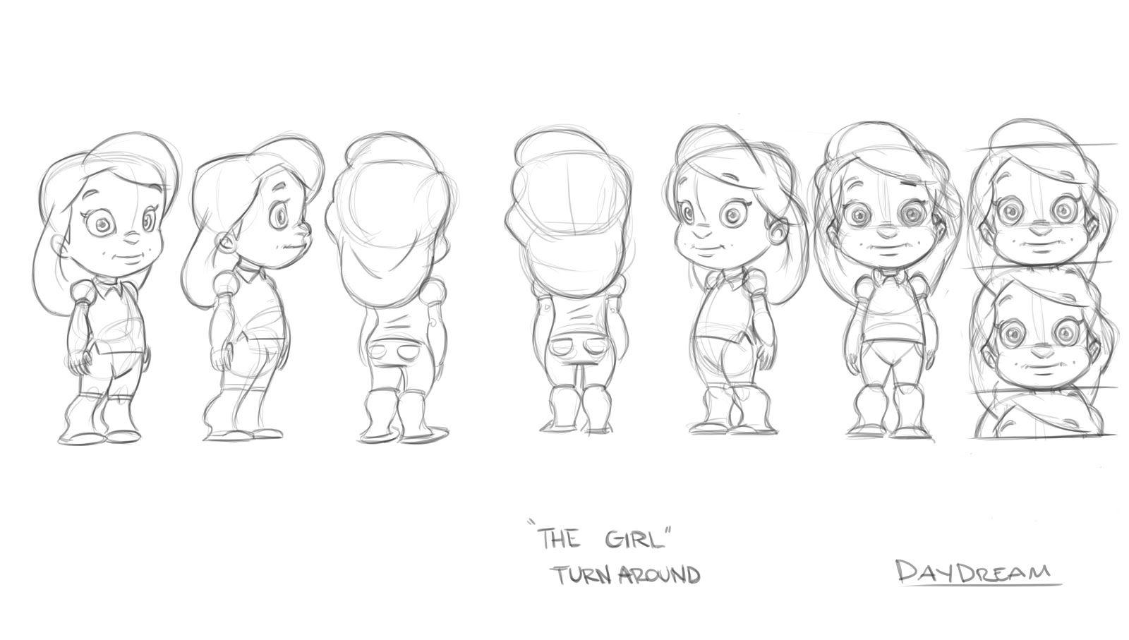Character Design Sheet Template : Girl character design sheet pixshark images
