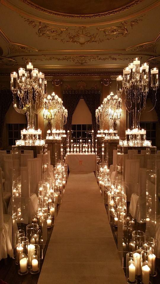 candles | Modern wedding decor, Wedding alter candles ...