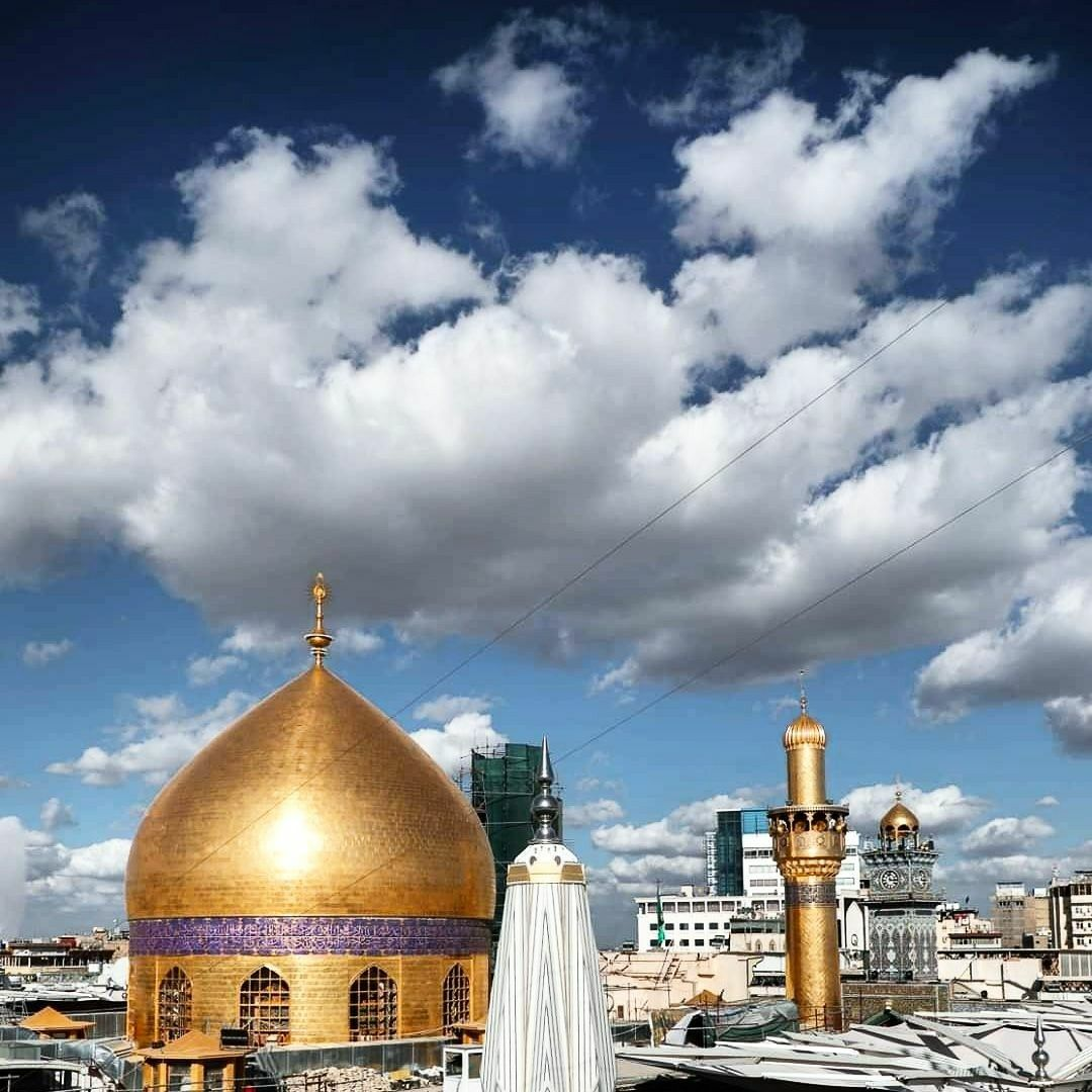 حرم أمير المؤمنين الإمام علي بن أبي طالب عليهما السلام Taj Mahal Landmarks Building