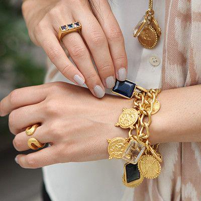 Coin Charm Bracelet-- Julie Vos