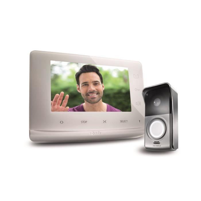 SOMFY Visiophone V300 - Discret et évolutif