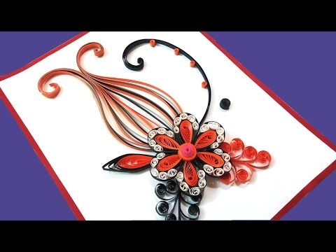 How to make a birthday gift greeting card ideas paper quilling art how to make a birthday gift greeting card ideas paper quilling art youtube m4hsunfo