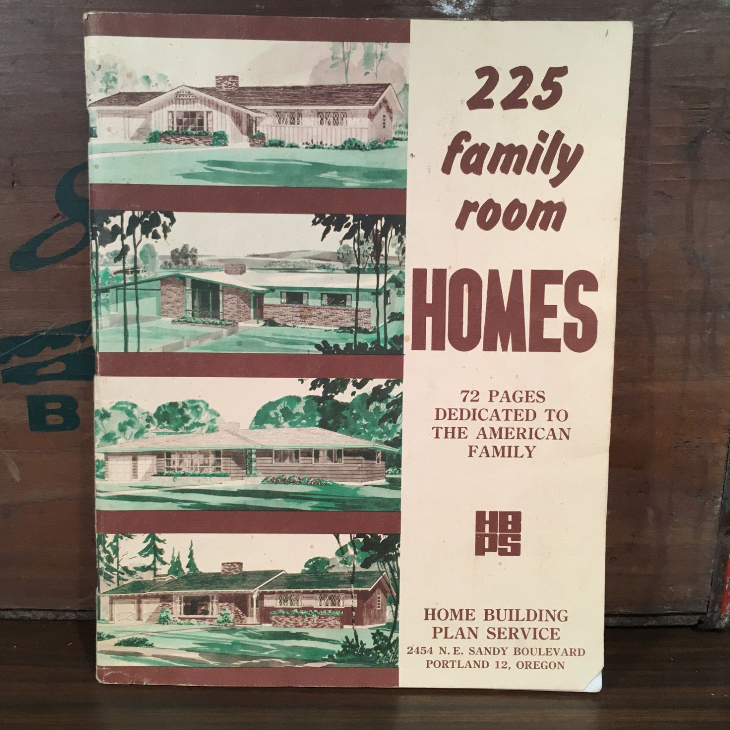 225 family room homes 1959 home building plan service vintage mid 225 family room homes 1959 home building plan service vintage mid century house blueprint catalog portland oregon malvernweather Image collections