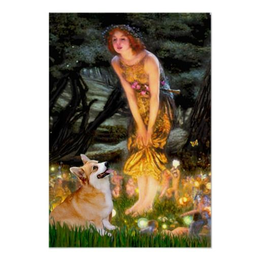 photos of corgis and fairies | ... adapted to include a pembroke welsh corgi fairies dance around in a