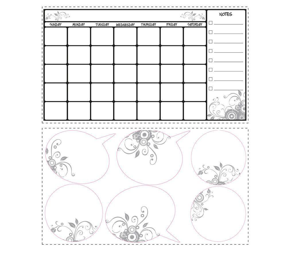 Roommates Dry Erase Calendar Peel Stick Walldecal Qvc Com Dry Erase Calendar Dry Erase Wall Calendar Calendar Decal