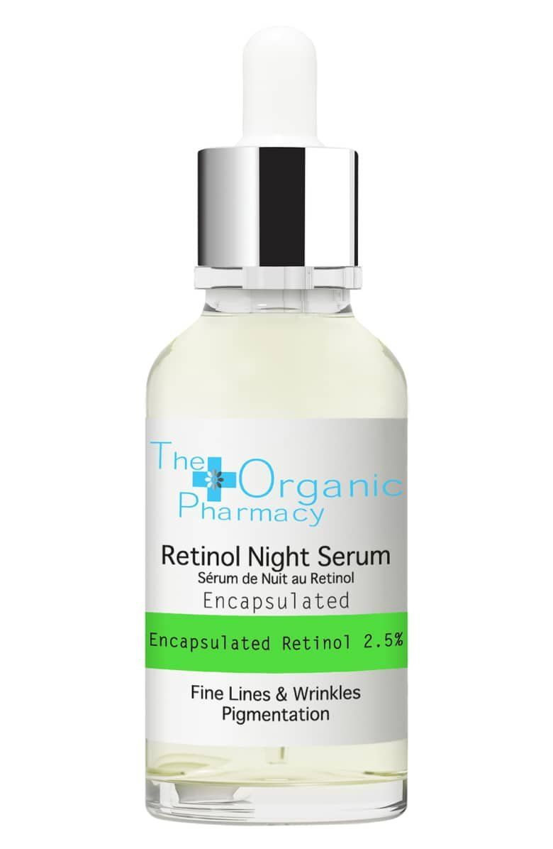 What It Is A Serum That Targets Fine Lines Wrinkles Uneven Skin Tone And Loss Of Firmness The Organic Pharmacy Night Serum Anti Aging Skin Products
