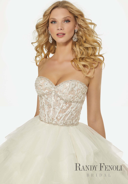 Randy Fenoli Bridal, Angelina Wedding Dress | Style 3402. Chantilly ...