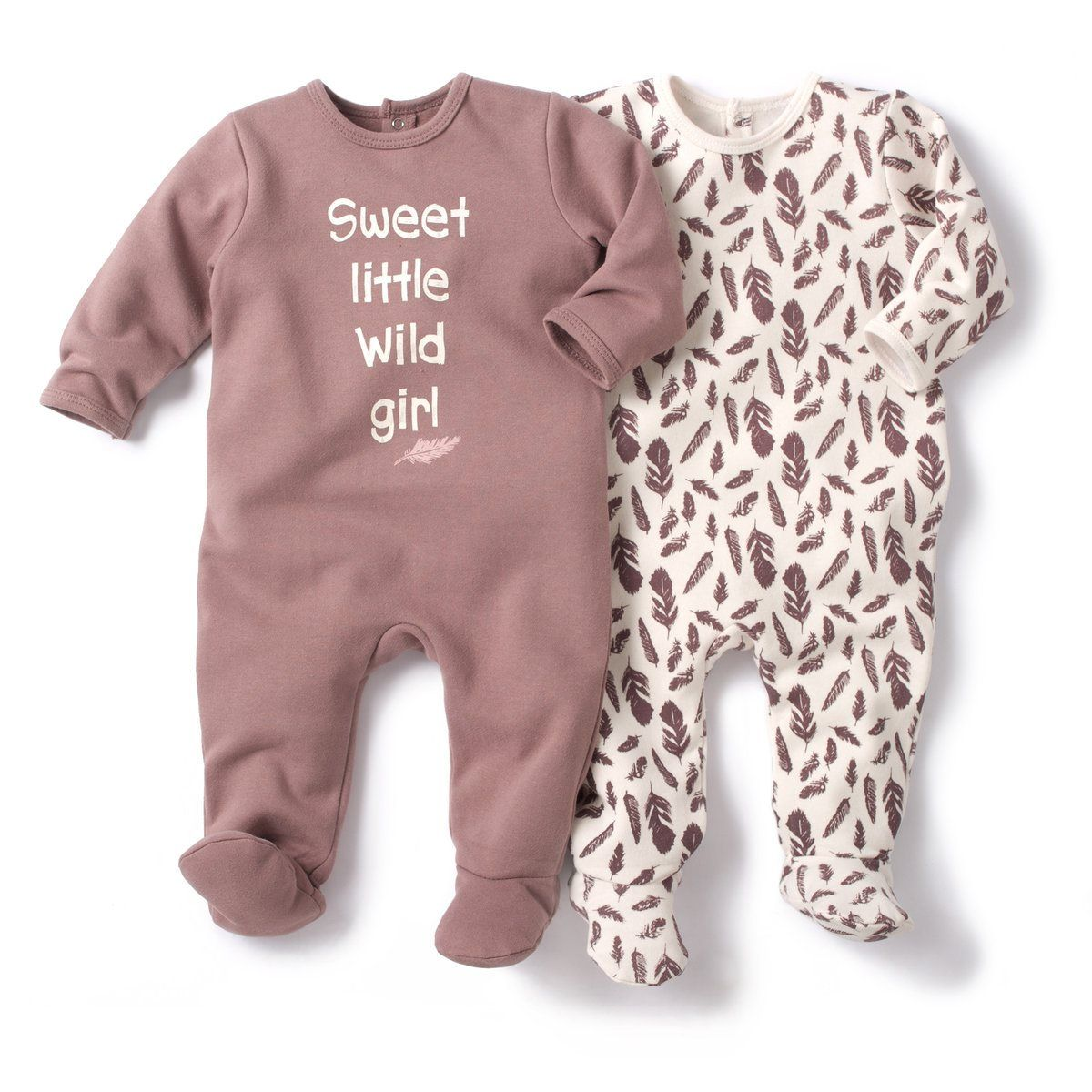 Pack of 8 Fleece Sleepsuits with Feet R baby : price, reviews and