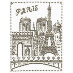 Paris aux points de croix!   Croix