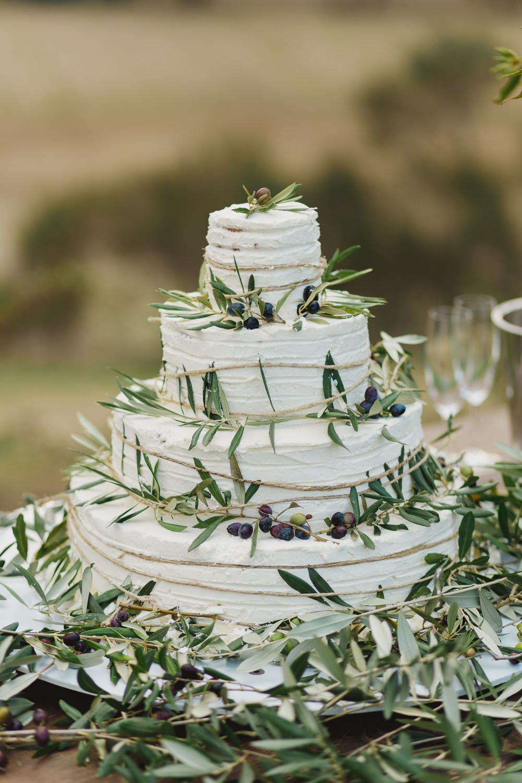 Elegant Outdoor Greenery Italian Wedding with Luisa Beccaria Gown