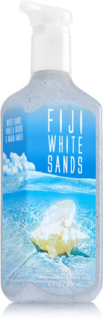 Fiji White Sands Deep Cleansing Hand Soap Soap Sanitizer Bath