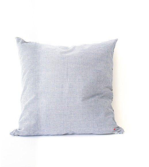 Cotton check cushion